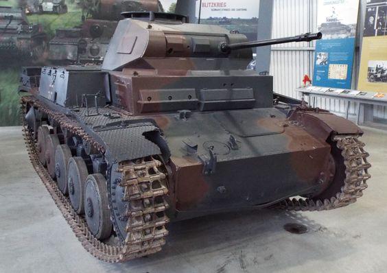 German Panzer II 1942 Tank Museum Bovington