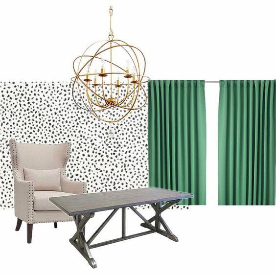 Cheetah Spots Animal Print Wall Stencils - Easy and Affordable Alternatives to Designer Wallpaper - Royal Design Studio