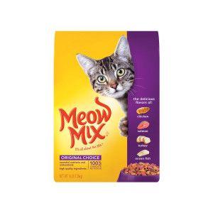 Meow Mix Original Choice Cat Food Food Cat Petsmart Dry Cat Food Cat Food Storage Cat Food Reviews