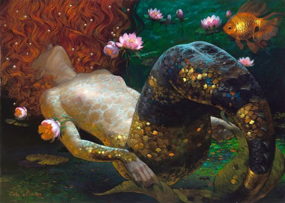 Dreams art Victor Nizovtsev: