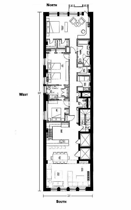 Plan Maison En Longueur Plan Maison Plan De Maison En