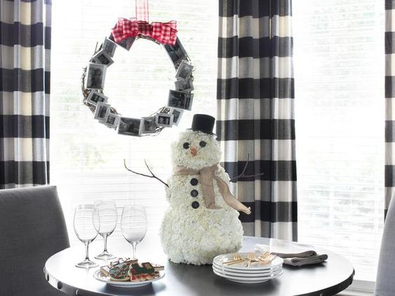 How to make a floral snowman centerpiece>> http://www.hgtv.com/handmade/how-to-make-a-carnation-snowman-centerpiece/index.html?soc=pinterest  #holidays: Centerpiece Decorating, Snowman Centerpieces, Carnation Snowman, Holidaydecor Condodecor, Snowman Holidays, Handmade Holiday, Holiday Decorating, White Carnations, Pinterest Holidays