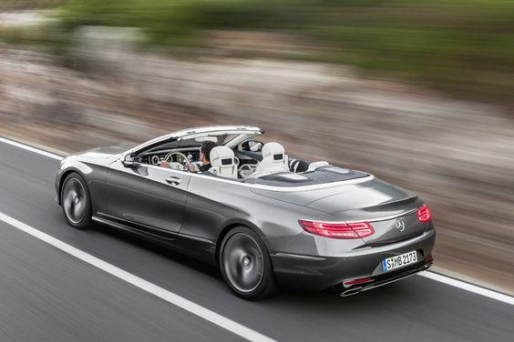 All new 2016 Mercedes Benz S-Class Convertible
