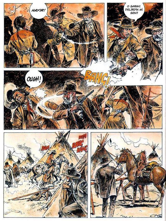 Mi roalico al sol: El West de Eleuteri Serpieri. Comic