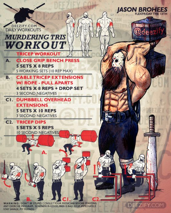 murdering triceps workout with jason