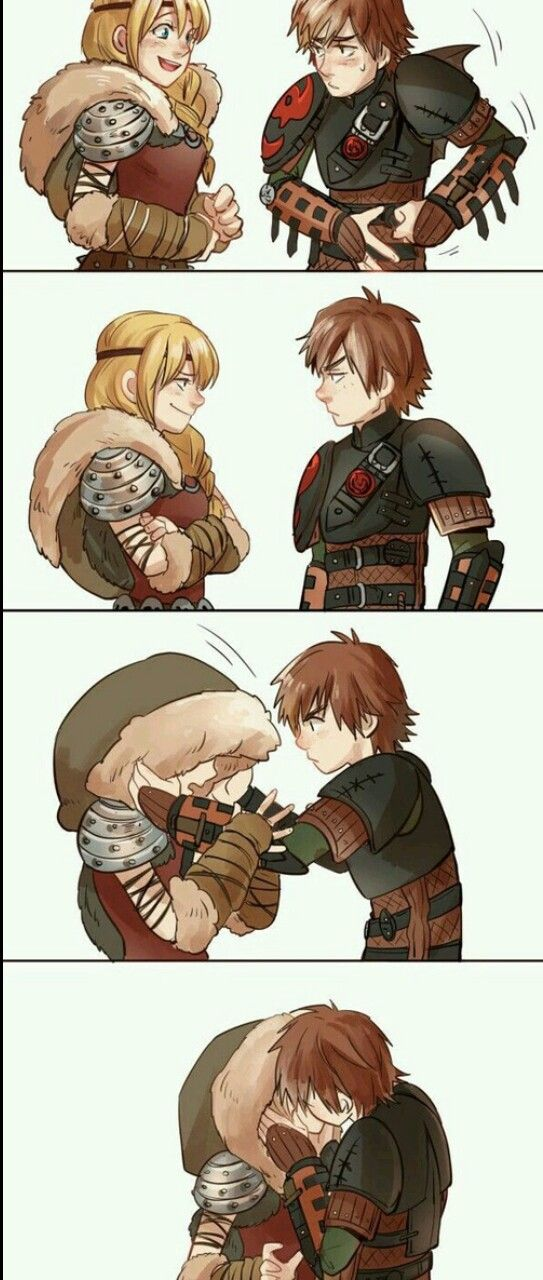 I Personally Don T Ship Them But This Is Still Cute How Train Your Dragon How To Train Your Dragon How To Train Dragon
