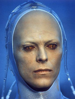 """David Bowie, """"the man who fell to earth"""", 1976"""