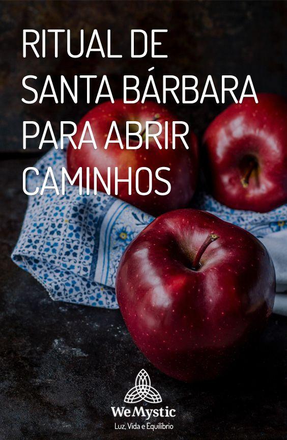Ritual De Santa Barbara Para Abrir Caminhos Banho De Abre