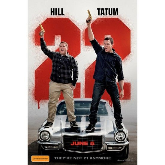 22 Jump Street Movie Poster In 2021 22 Jump Street Funny Movies Streaming Movies