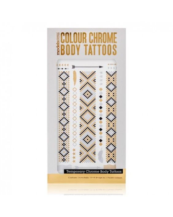 MODELS OWN Colour Chrome Body Tattoo Scales - Jetzt kaufen auf www.makeupland.de