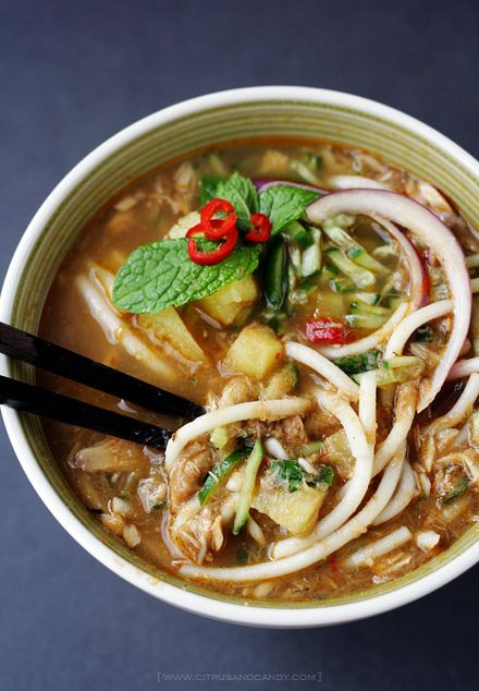 how to make laksa soup recipe