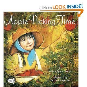 Book, Apple Picking Time by Michele B. Slawson