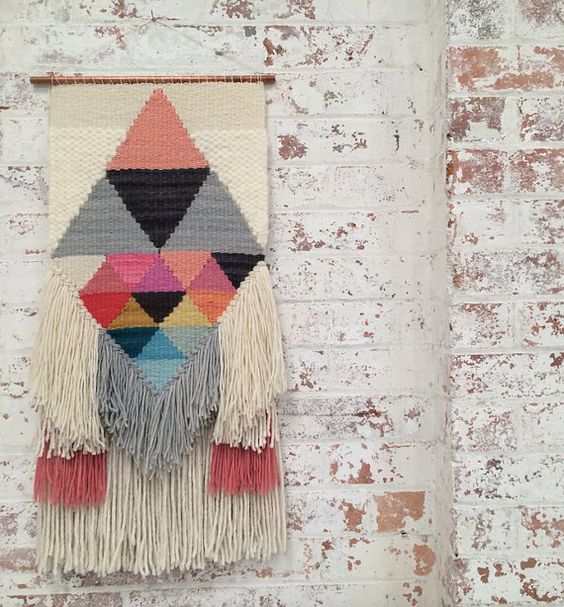Colours of Scandinavia woven wall hanging by WeavingbyMimConcepts
