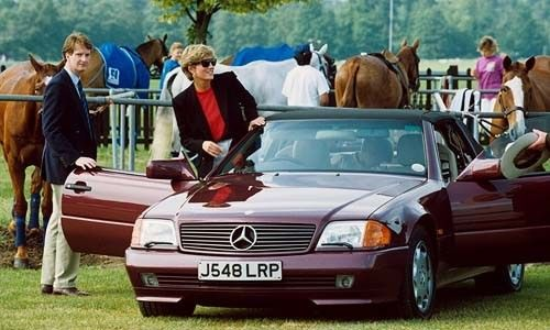 Mercedes Benz SL500 (R129) 1995 Model — Collectible Wheels | Princess diana,  Diana, Mercedes