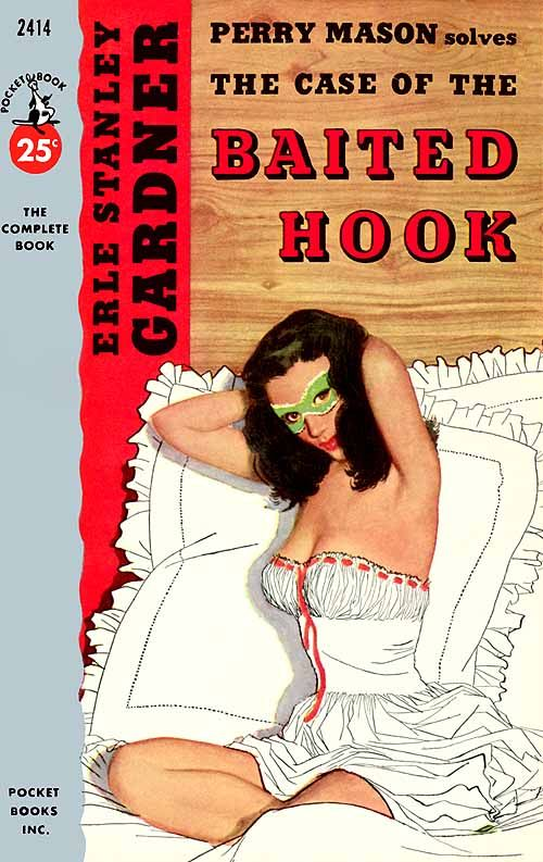 "Earl Stanley Gardner's Perry Mason, ""The Case of the Baited Hook"" (1955) Moore, Al"