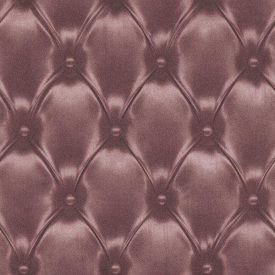 Chesterfield paars Behang 479515