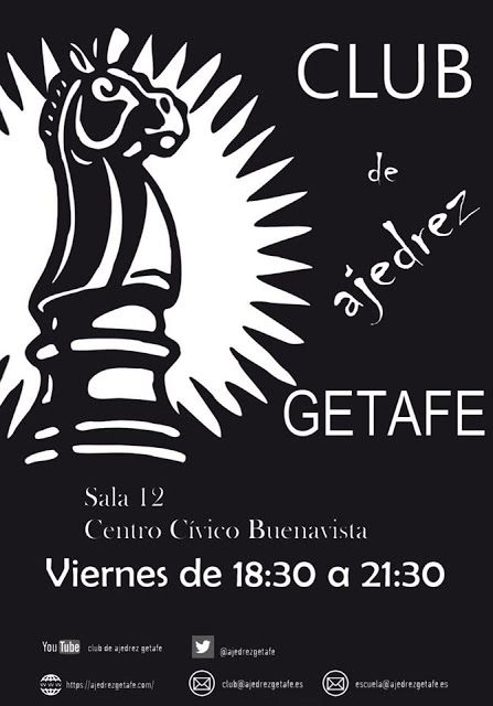 Atletismo Y Algo Más El Club De Ajedrez Getafe Invita A Los Aficionados Getafe Ajedrez Club