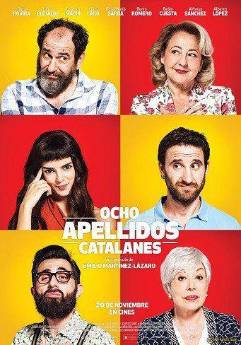 'Ocho Apellidos Catalanes', cartel de la secuela de 'Ocho Apellidos Vascos' http://www.blogdecine.com/p/85491