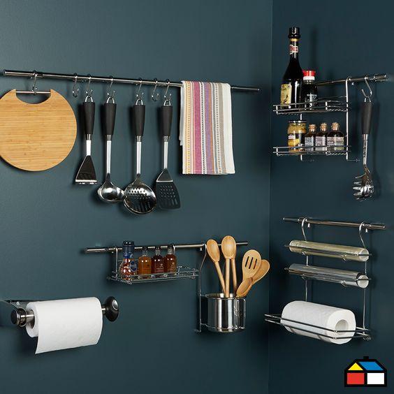 ¡Optimiza espacio en tu cocina con este set de organización!