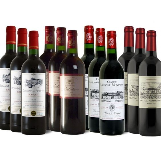 Probierpaket Bordeaux - 12 Flaschen 59,99 €