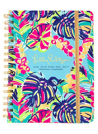 tropical print monthly planner - Lilly Pulitzer