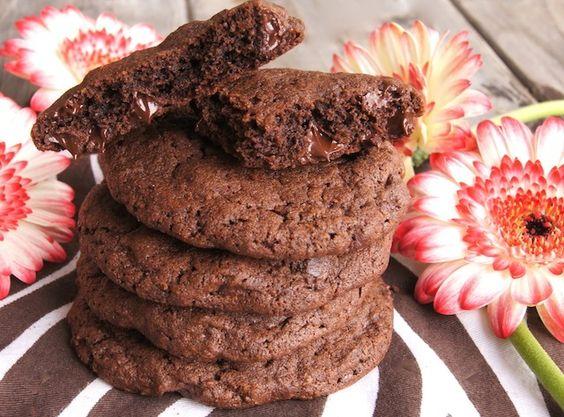 Double Chocolate, Double Espresso Cookies