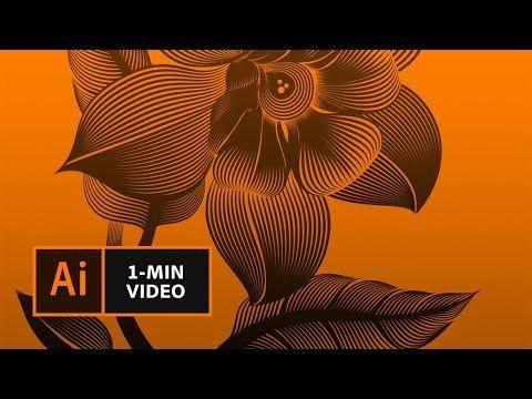 how to make a linocut look with adobe illustrator creative cloud youtube photoshoptutorialblend grafikdesign tutorials vektorgrafik selbst erstellen zeichenprogramm