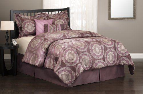 ($96.09) S. Lichtenberg Co. Brilliance 100-Percent Polyester, King 7-Piece Comforter Set, PurpleFrom S. Lichtenberg Co. Inc.