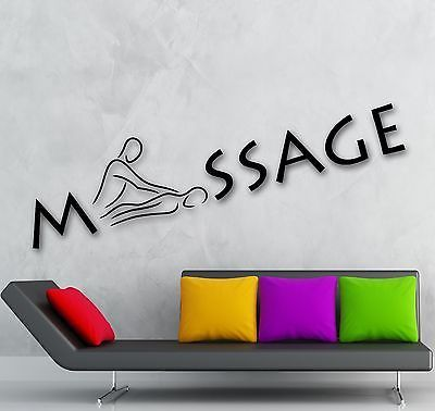 Vinyl Decal Wall Sticker Decor for Massage Salon Relax Spa Salon Beauty Health Decoration (ig2005)