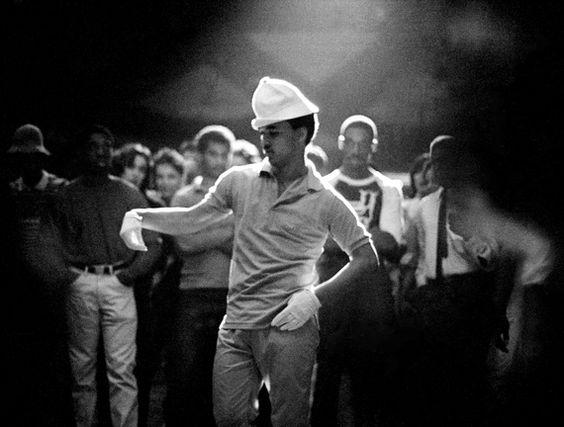 Body Popper-at-Roseland-Ballroom-by-Joe-Conzo.-1980