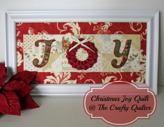 The Crafty Quilter | Christmas Once a Month:  February | http://thecraftyquilter.com