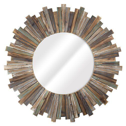 Gracie Oaks Delicia Wood Sunburst Wall Mirror Wayfair 193 36 Sunburst Mirror Mirror Wall Oversized Wall Mirrors