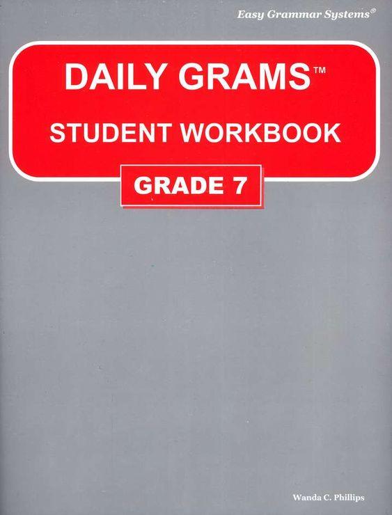 Daily Grams Grade 7 Workbook