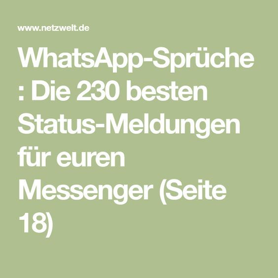 Status Sprüche Für Whatsapp 250 Kreative Ideen Für Den