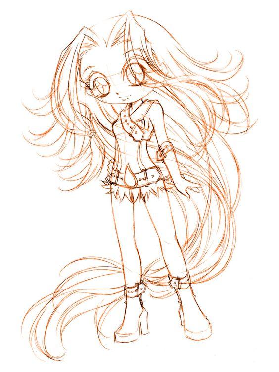 veilchen... sketch by sureya.deviantart.com