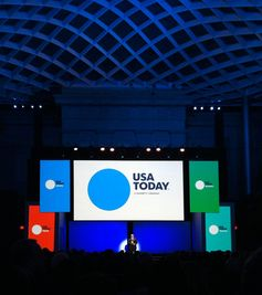 USA TODAY redesign from Wolffolins