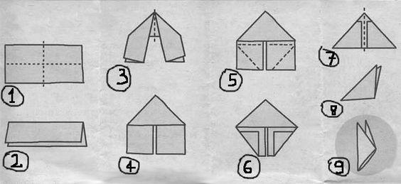 como fazer origami 3d - Pesquisa Google