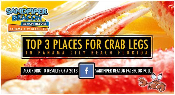 Crab Legs Panama City Beach Fl