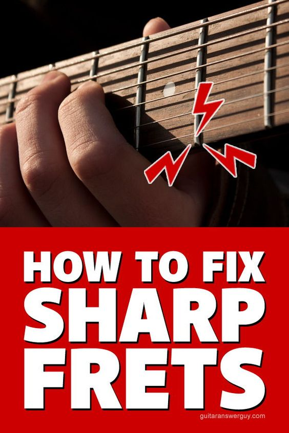Your Guitar Has Sharp Fret Ends Should You File Them Music Guitar Blues Guitar Chords Electric Guitar Lessons