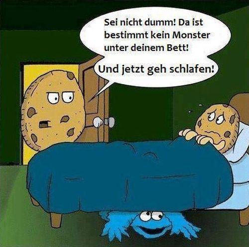 Ist wirklich kein Monster unterm Bett - http://www.dravenstales.ch/ist-wirklich-kein-monster-unterm-bett/