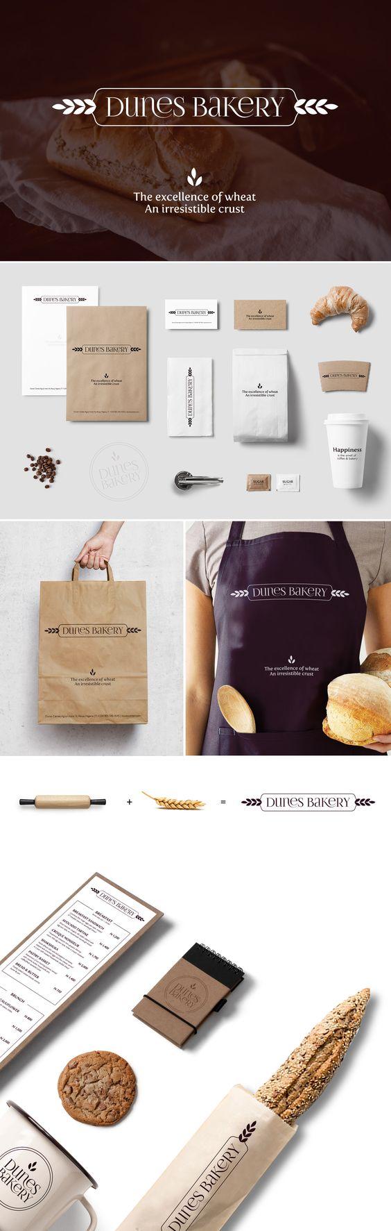 Dunes Bakery - Logo design & branding