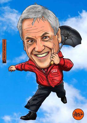 CARICATURAS PARDO: Sebastián Piñera