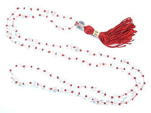 Hindu Prayer Mala- Clear Crystal Healing Japa Mala Beads for Meditation and Peace Mogul Interior http://www.amazon.com/dp/B012CCY4BO/ref=cm_sw_r_pi_dp_t2GUvb07QE54W