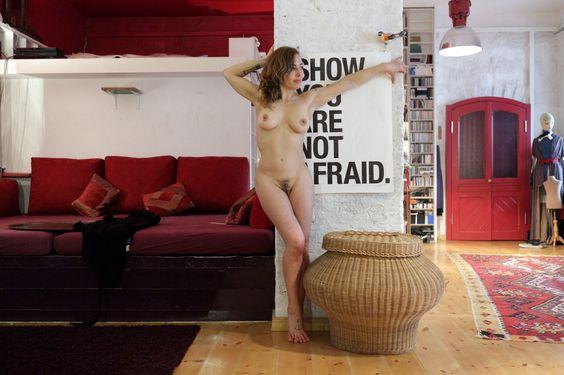 Diese Menschen fotografieren sich gegenseitig und zeigen sich von einer sehr intimen Seite #art #berlin #nudity