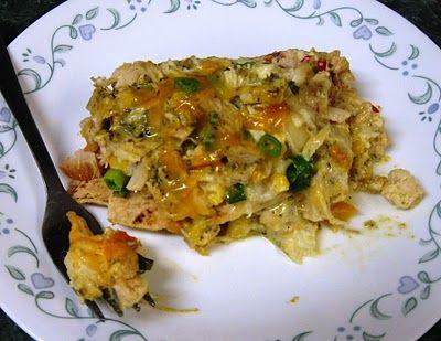 Chicken Poblano Casserole