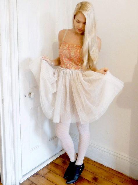 Loving the ballet skirt