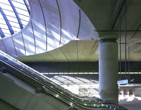 Canary Wharf Underground Station | Projects | Foster + Partners