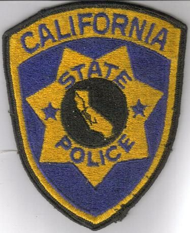 california state police patches | The old California State Police shoulder patch. It was worn on all ...