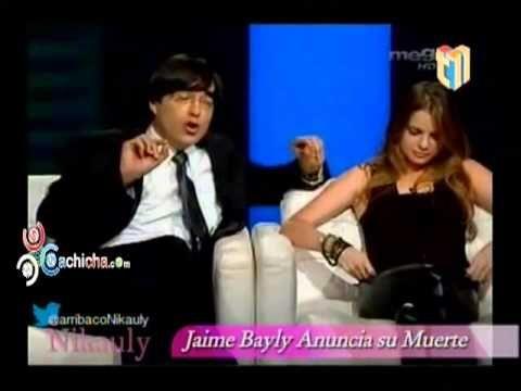 Jaime Bayly anuncia su muerte #Video - Cachicha.com