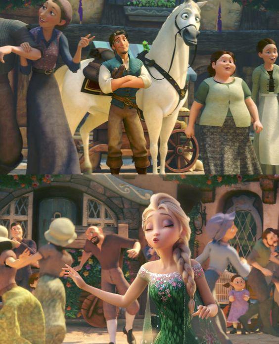 Eugene and Elsa
